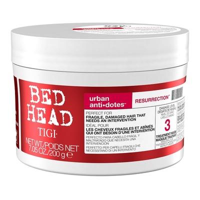 TIGI Bed Head Urban Anti+dotes Resurrection - Маска для сильно поврежденных волос уровень 3 200 мл