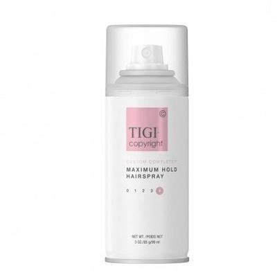 TIGI Copyright Care™ Maximum Hold Hairspray - Лак суперсильной фиксации волос 100 мл