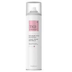 TIGI Copyright Care™ Maximum Hold Hairspray - Лак суперсильной фиксации волос 385 мл